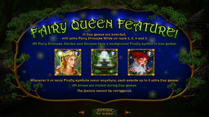 No Deposit Casino Guide image of Enchanted Garden II