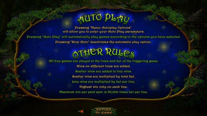 Enchanted Garden II by No Deposit Casino Guide