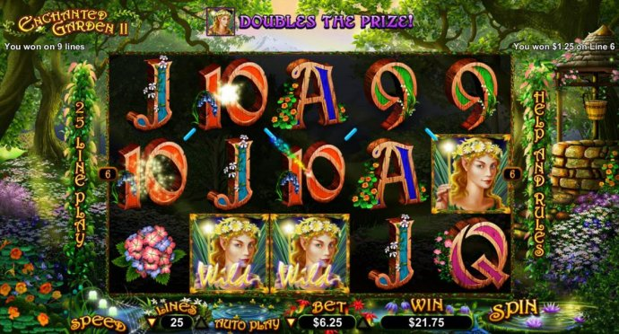 No Deposit Casino Guide image of Enchanted Garden II