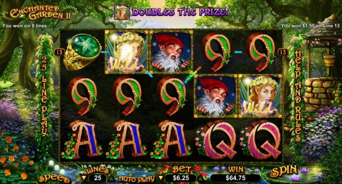 Enchanted Garden II by No Deposit Casino Guide