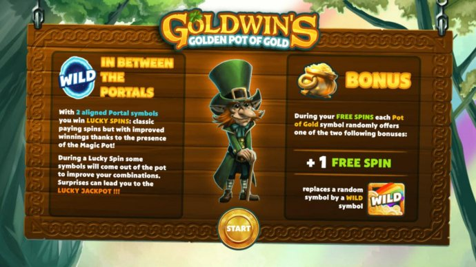 Game features include: In Between the Portals Wilds and Bonus feature. by No Deposit Casino Guide