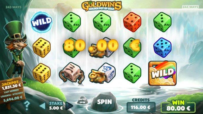 No Deposit Casino Guide image of Goldwin's Golden Pot of Gold