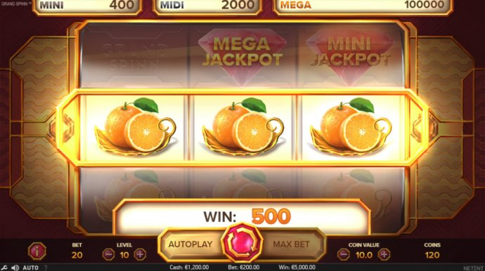 No Deposit Casino Guide - Nudge Feature triggers a big win