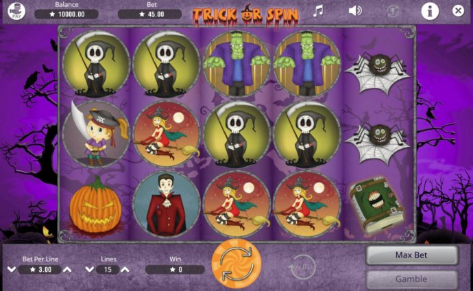 Trick or Spin screenshot