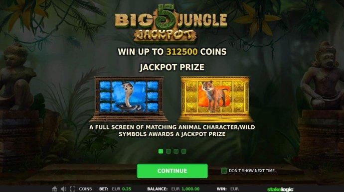 Big 5 Jungle Jackpot screenshot