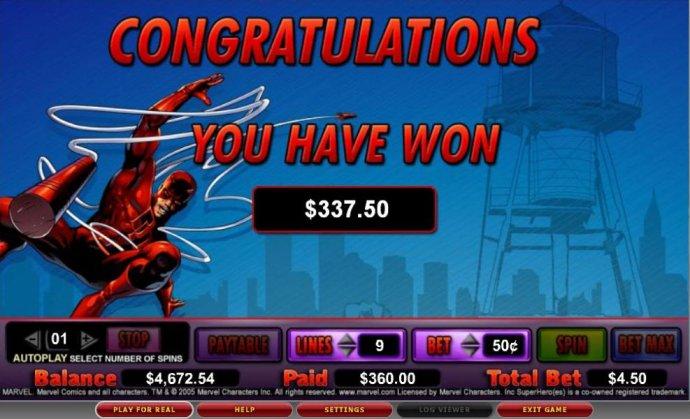 No Deposit Casino Guide image of Daredevil
