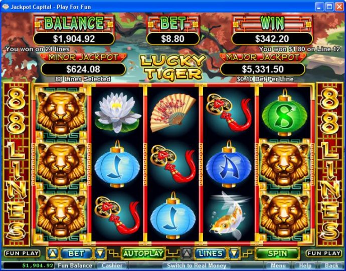 Lucky Tiger by No Deposit Casino Guide
