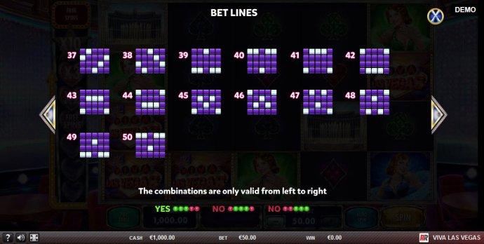 No Deposit Casino Guide - Paylines 37-50