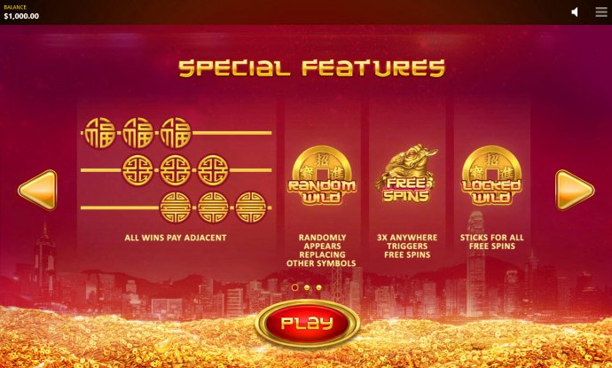 No Deposit Casino Guide - Special Features