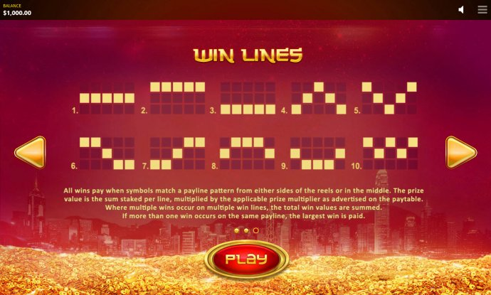 No Deposit Casino Guide - Paylines 1-10