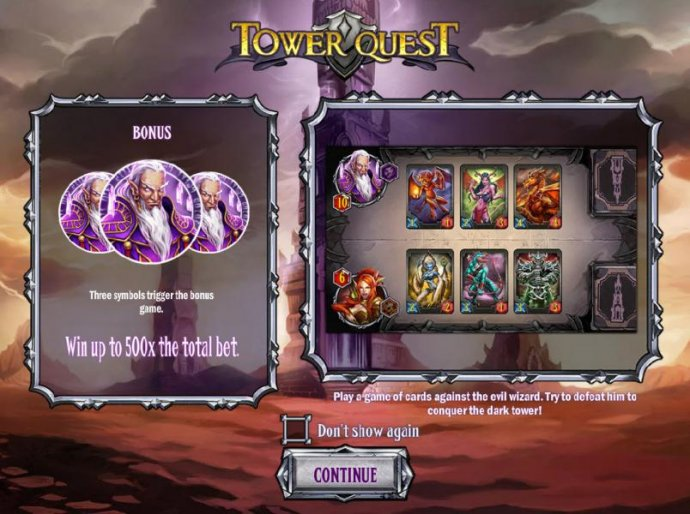 Tower Quest by No Deposit Casino Guide