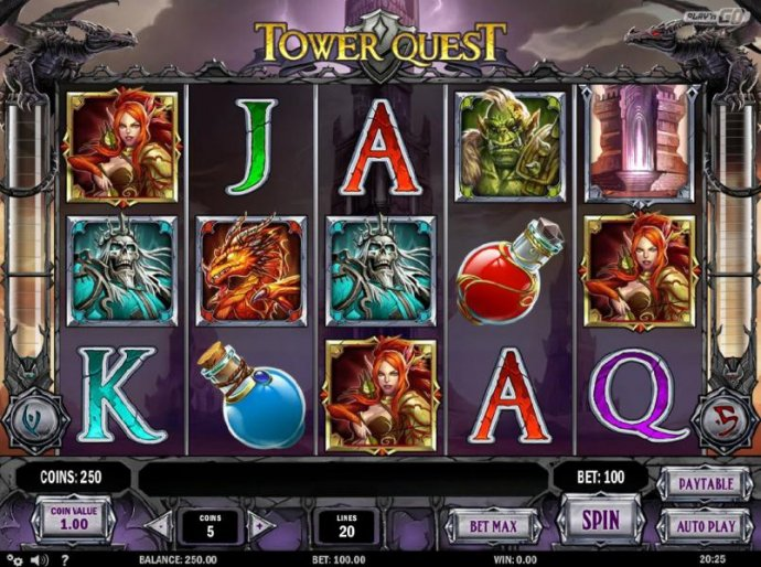 No Deposit Casino Guide image of Tower Quest