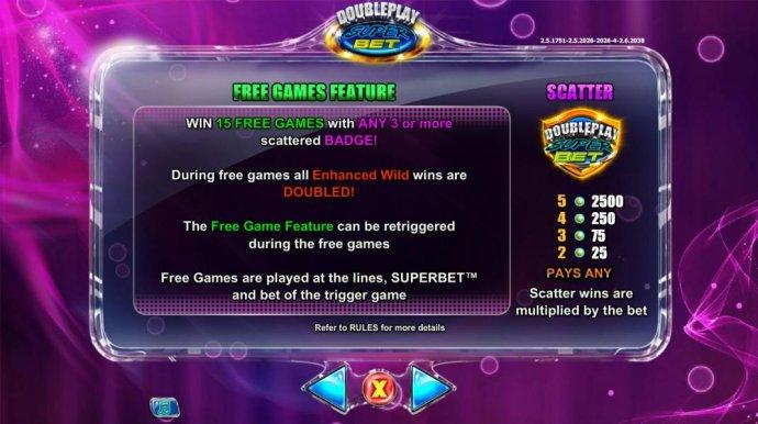 Double Play SuperBet screenshot