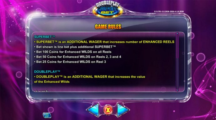 SuperBet is an additional wager that increases number of enhanced reels - No Deposit Casino Guide