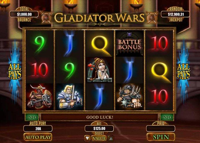 Gladiator Wars screenshot