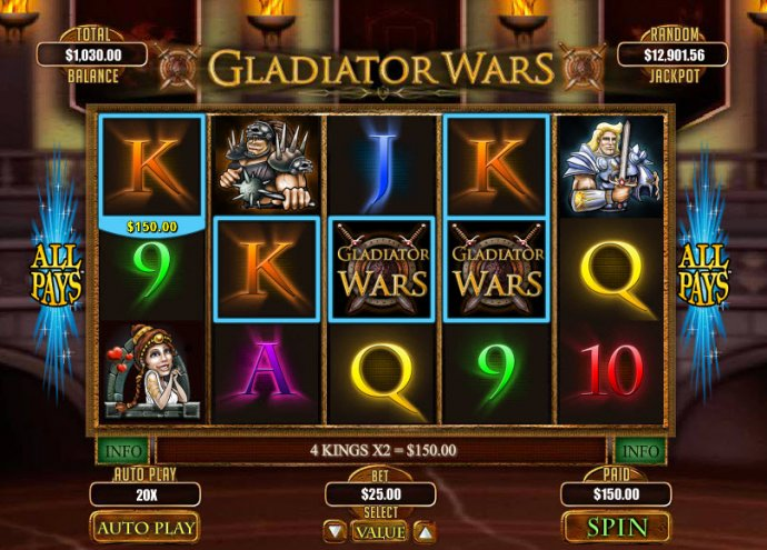 Gladiator Wars screenshot
