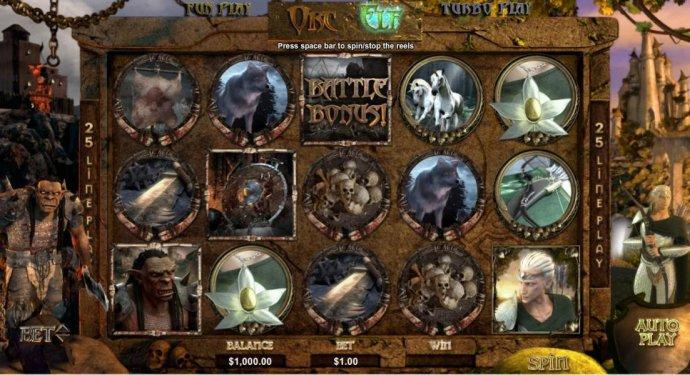 Orc vs Elf screenshot