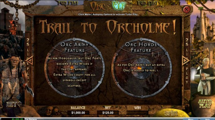 No Deposit Casino Guide image of Orc vs Elf
