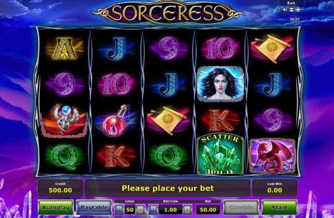 Sorceress by No Deposit Casino Guide