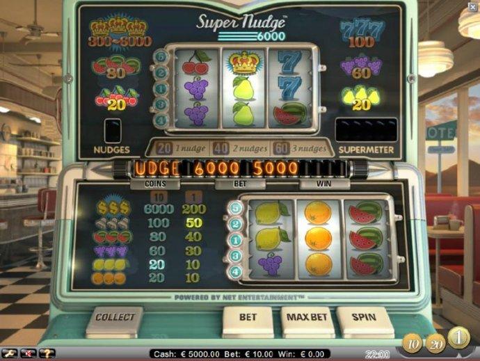 Super Nudge 6000 by No Deposit Casino Guide