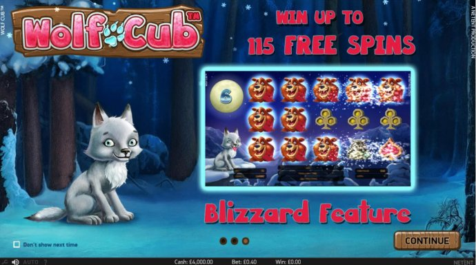 Blizzard Feature by No Deposit Casino Guide