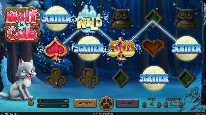 Wolf Cub by No Deposit Casino Guide