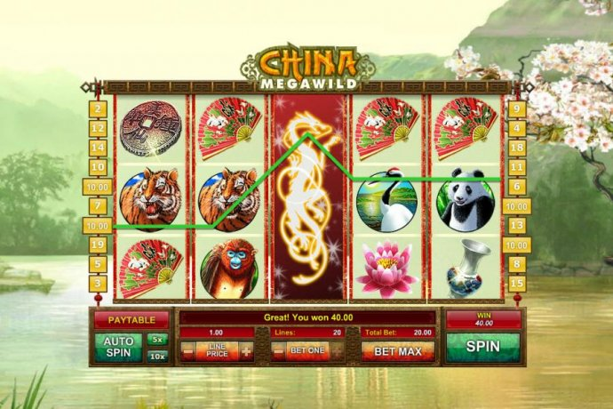 China MegaWild by No Deposit Casino Guide