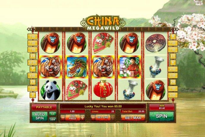 No Deposit Casino Guide image of China MegaWild