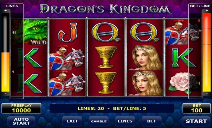 Dragon's Kingdom screenshot