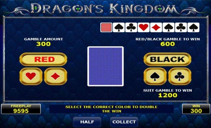 No Deposit Casino Guide image of Dragon's Kingdom
