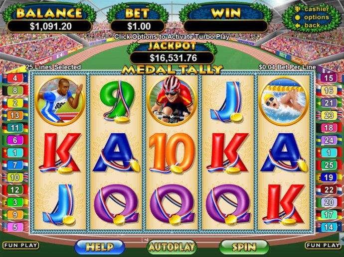 No Deposit Casino Guide image of Medal Talley