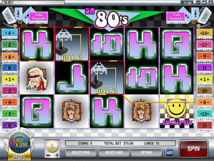 So 80's by No Deposit Casino Guide