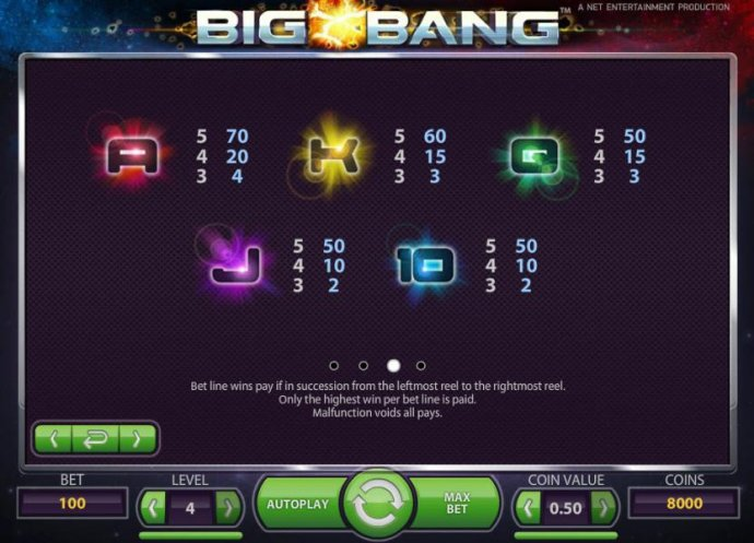Big Bang by No Deposit Casino Guide