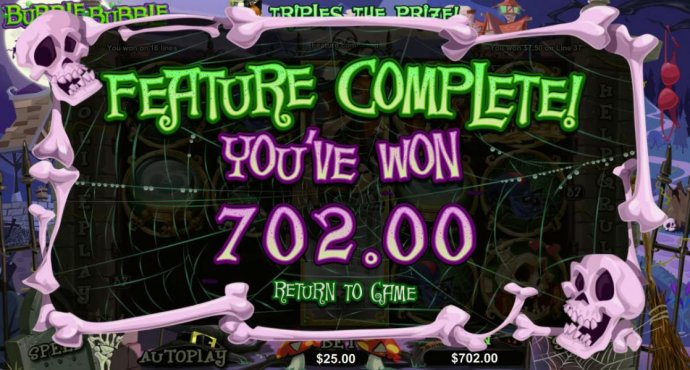 Free spins feature triggers a 702.00 big win! - No Deposit Casino Guide