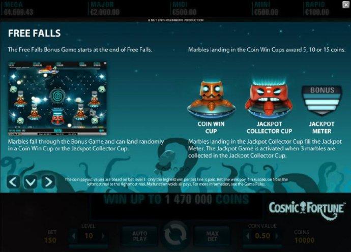 No Deposit Casino Guide - Free Falls Bonus Game Rules