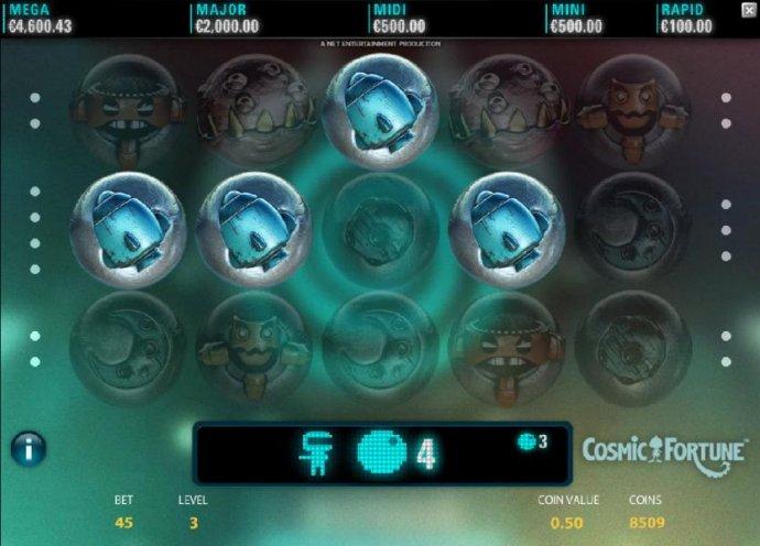 No Deposit Casino Guide image of Cosmic Fortune