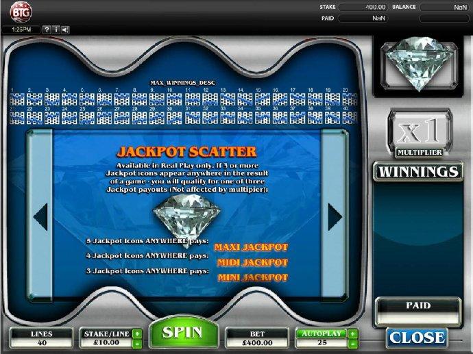 No Deposit Casino Guide image of Diamonds