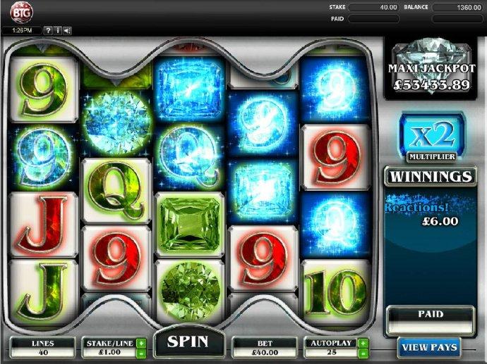 Diamonds screenshot