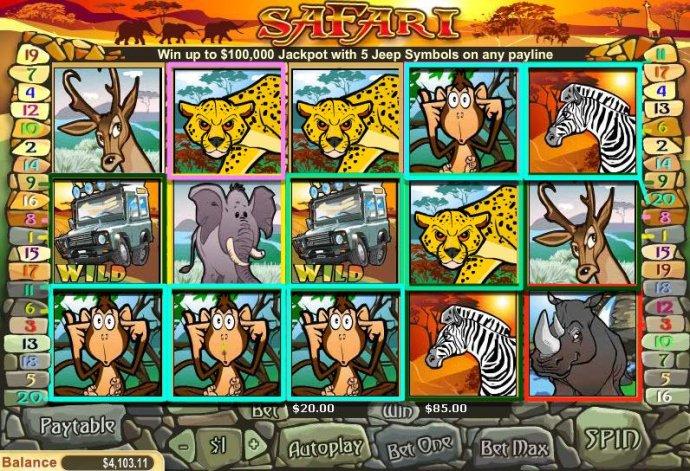 Safari by No Deposit Casino Guide
