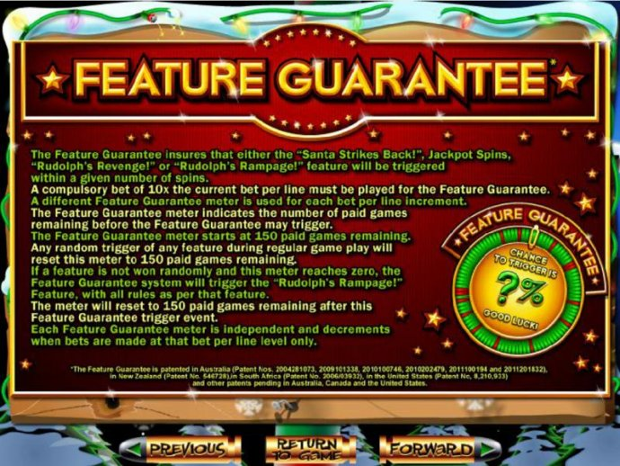 No Deposit Casino Guide - Feature Guarantee rules