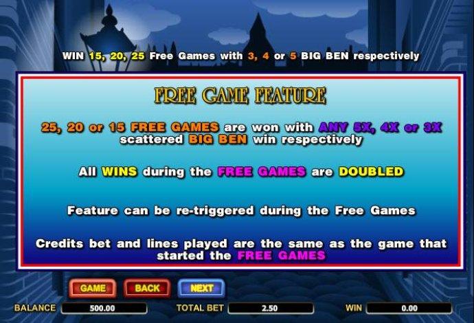 Big Ben screenshot