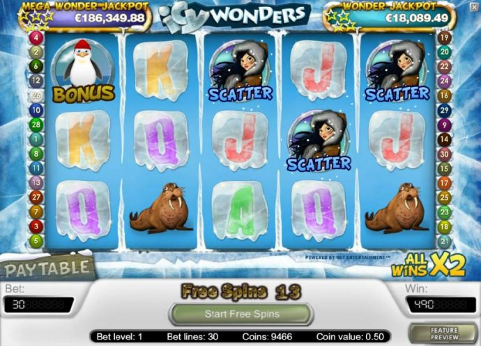 Icy Wonders by No Deposit Casino Guide