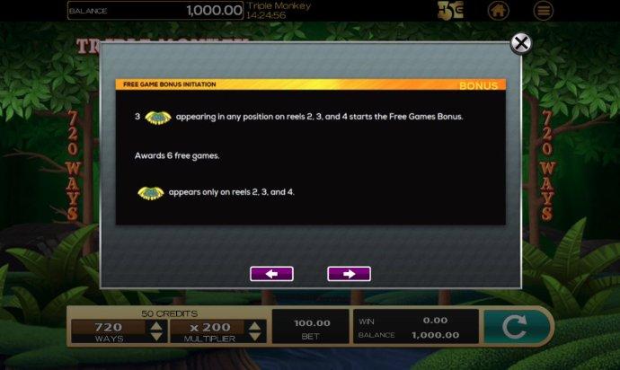 No Deposit Casino Guide image of Triple Monkey