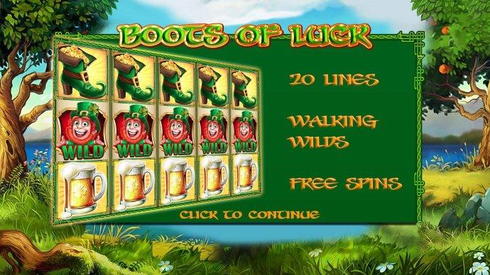 Boots of Luck screenshot