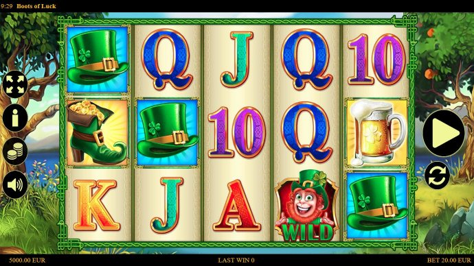 No Deposit Casino Guide image of Boots of Luck