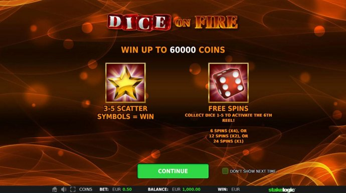 Win up to 60000 coins! Scatters and Free Spins. by No Deposit Casino Guide