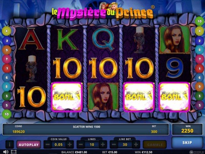 No Deposit Casino Guide image of Le Mystere du Prince
