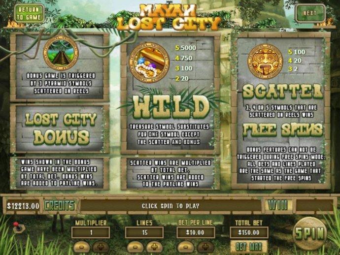 Mayan Lost City screenshot