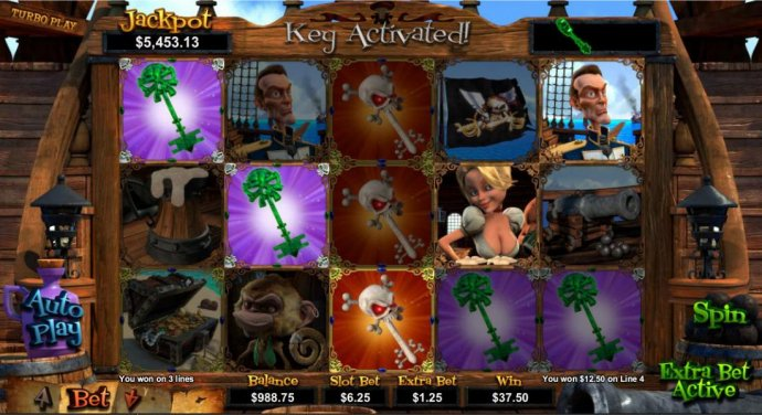 Collect keys to win additional prizes. by No Deposit Casino Guide