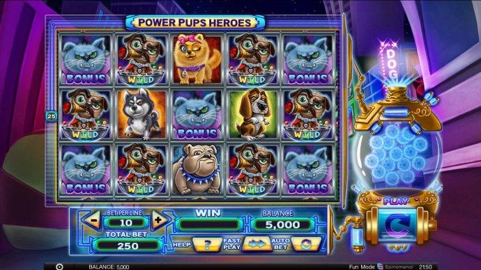 Power Pups Heroes screenshot